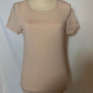 H&M Small Top Peachy color